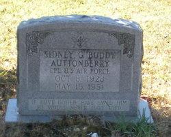 """Sidney Gilbert """"Buddy"""" Auttonberry"""