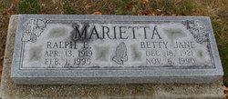 Betty Jane <I>Blair</I> Marietta