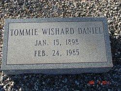 Tommie <I>Wishard</I> Daniel