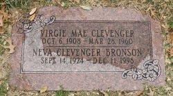 Neva <I>Clevenger</I> Bronson