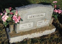 "Anna Ethel ""Annie"" <I>Lee</I> Armstrong"