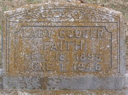 Lady Colesta <I>Cooper</I> Faith