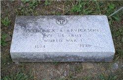 Frederick Arthur Arvickson