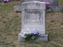 Thomas Edward Haines