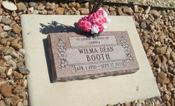 Wilma <I>Dean</I> Booth