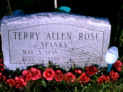 "Terry Allen ""Spanky"" Rose"