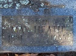 May <I>Heath</I> Burris