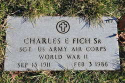 Charles E Fich, Sr