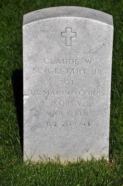 Claude W Singletary, Jr