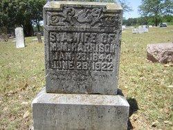 Sarah Ann <I>Midkiff</I> Harrison