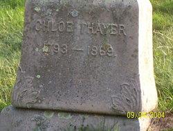 Chloe <I>Taft</I> Thayer