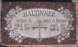 Mary Ann <I>Holden</I> Haltinner