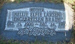 Nellie Elfie <I>Larsen</I> Brady