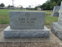 Alma Virginia <I>Jones</I> Cone
