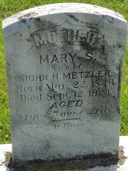 Mary S <I>Bradley</I> Metzler