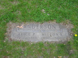 Alice <I>Holling</I> Anderson