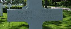 Sgt Robert R. Stone