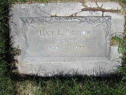 "Lucy Lavina ""Fausett"" <I>Bigelow</I> Fausett"