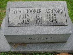 Lyda <I>Hooker</I> Ashford