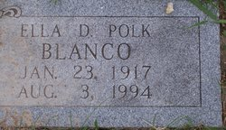 Ella D <I>Polk</I> Blanco