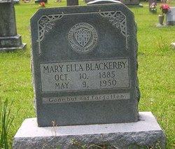 Mary Ella Blackerby