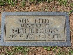 John Camilla <I>Fickett</I> Bouligny