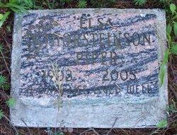 Elsa Dorothea <I>Thorsteinson</I> Piper
