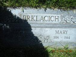 Mary Katherine <I>Matievich</I> Brklacich