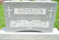 Mary M. <I>Zeyen</I> Anderson