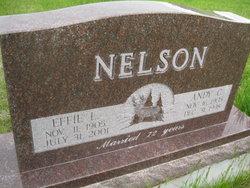 Effie L. <I>Thayer</I> Nelson