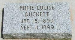 Annie Louise Duckett