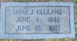 Sarah Jane <I>Gulledge</I> Gilliland