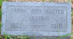 Sarah Ann <I>Buster</I> Chastain