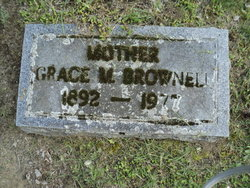 Grace M. <I>Rogers</I> Brownell