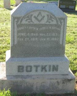 George Walter Botkin