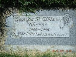 "Georgia ""Cherie"" <I>Brown</I> Wilson"