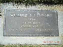 William Lambson