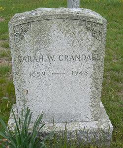 Sarah W. <I>Hammond</I> Crandall