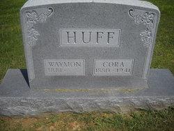 Cora <I>Akers</I> Huff