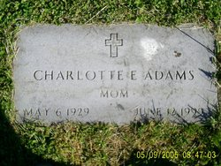 Charlotte Estella <I>Brewer</I> Adams