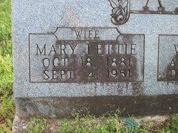 Mary Lettie <I>Newlan</I> Allen