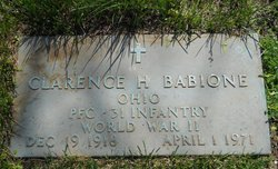 PFC Clarence Haven Babione
