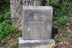 Mary Magdeline <I>Sutherland</I> Edwards