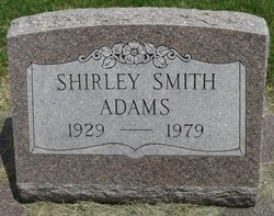 Shirley Jeanne <I>Smith</I> Adams