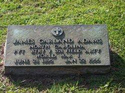 Pvt James Garland Adams