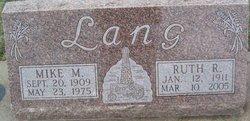 Ruth R <I>Hurt</I> Lang