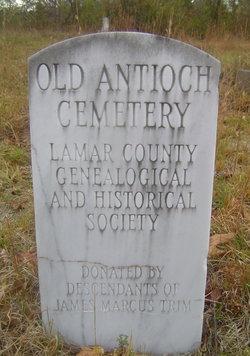 Old Antioch Baptist Cemetery