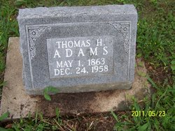 Thomas H Adams