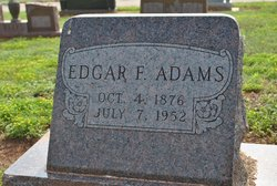 Edgar Frederick Adams