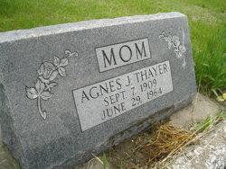 Agnes J <I>Nielsen</I> Thayer